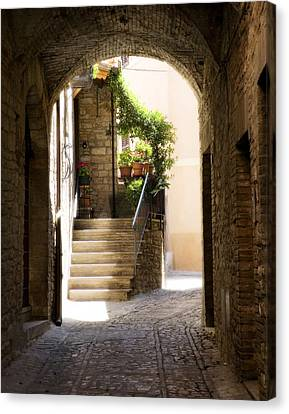 Scenic Archway Canvas Print by Marilyn Hunt