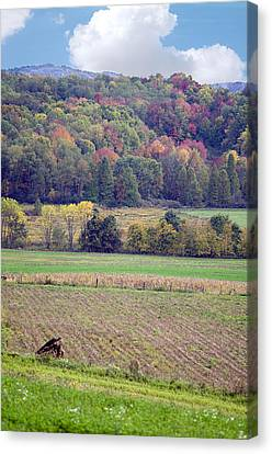Scenic Autumn Landscape 3 Canvas Print by SharaLee Art