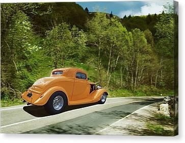 Scenic Drive Canvas Print