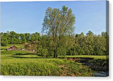 Scenic Jackson County West Virginia Canvas Print by Mountain Dreams