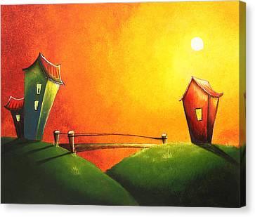 Scenic Landscape  Canvas Print by Nirdesha Munasinghe