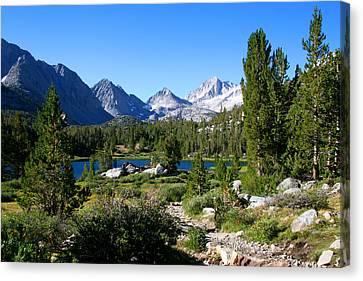 Scenic Mountain View Canvas Print by Chris Brannen