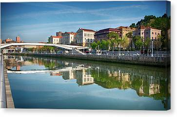 Scenic River View Canvas Print by James Hammond
