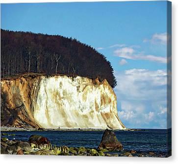 Scenic Rugen Island Canvas Print by Anthony Dezenzio