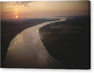 Scenic View Of The Potomac River Canvas Print