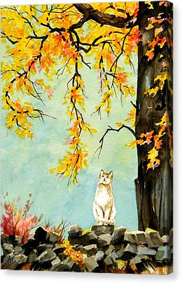 Scent Of Spring Canvas Print by Art Scholz