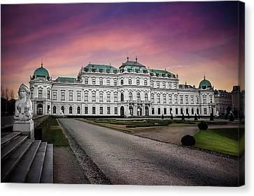 Schloss Belvedere Vienna Canvas Print by Carol Japp