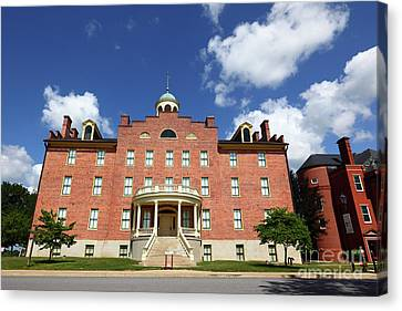 Schmucker Hall Gettysburg Theological Seminary Canvas Print by James Brunker