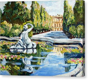 Schoenbrunn Palace Canvas Print by Alexandra Maria Ethlyn Cheshire