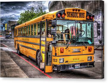 School Bus Canvas Print by Spencer McDonald