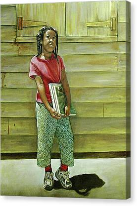 School Daze Canvas Print by Curtis James
