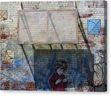 School Wall 2  Canvas Print by Lyle Crump