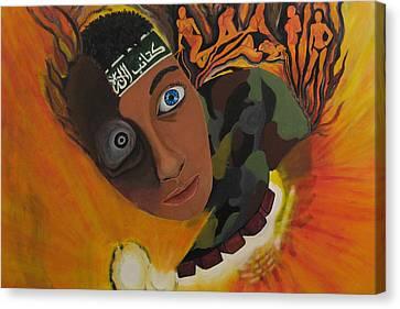 Canvas Print - Schoolboy Fantasy by Darren Stein
