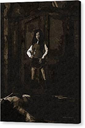 Schoolgirl Revenge Canvas Print