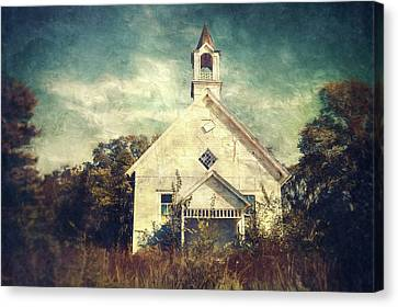Abandoned Canvas Print - Schoolhouse 1895 by Scott Norris