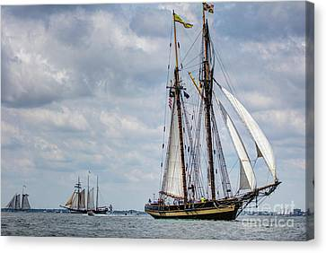 Schooner Pride Of Baltimore Canvas Print