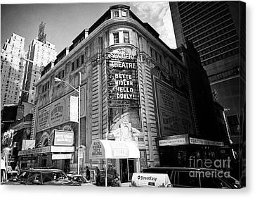 Schubert Canvas Print - schubert theatre featuring hello dolly New York City USA by Joe Fox