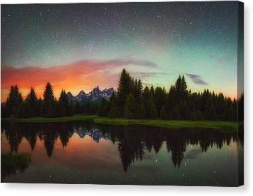 Schwabacher Heavens Canvas Print by Darren  White