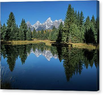 Schwabacher Landing Canvas Print by Mary Hone