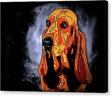 Schweizer Laufhund Canvas Print by Alexey Bazhan