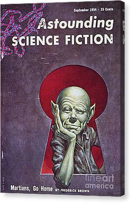 Encbr Canvas Print - Science Fiction Cover, 1954 by Granger