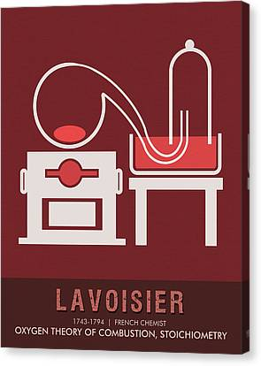 Science Posters - Antoine Lavoisier - Chemist Canvas Print