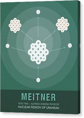 Science Posters - Lise Meitner - Physicist Canvas Print