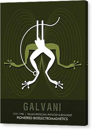 Science Posters - Luigi Galvani - Physician, Biologist, Physicist Canvas Print