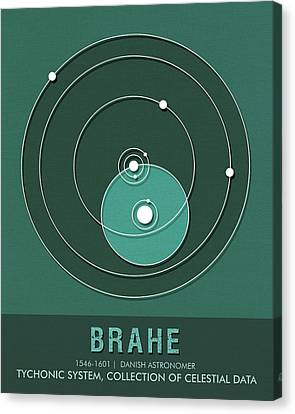 Science Posters - Tycho Brahe - Astronomer Canvas Print
