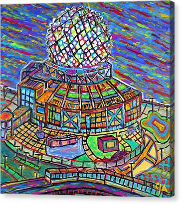 Science World, Vancouver, Alive In Color Canvas Print