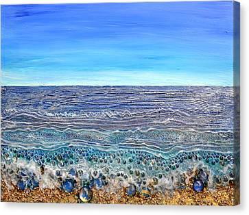 Scintillated Seascape Canvas Print