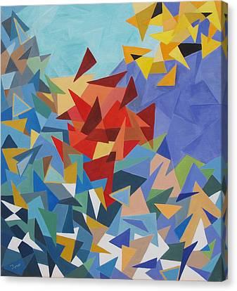 Scintillation Canvas Print by Trish Toro