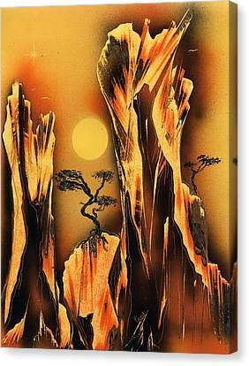 Scorcher Canvas Print by Jason Girard
