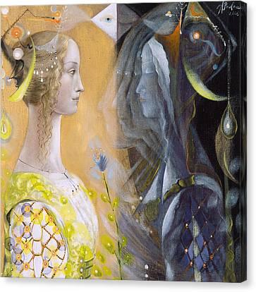 Astrology Canvas Print - Scorpio by Annael Anelia Pavlova