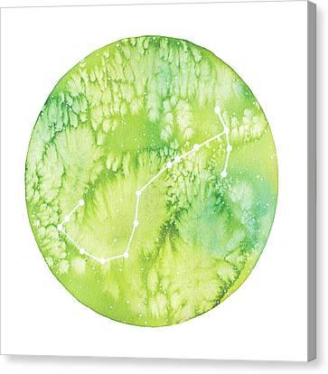 Scorpio Canvas Print by Stephie Jones