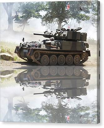 Scorpion Reflection Canvas Print