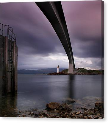 Scotland Skye Bridge Canvas Print by Nina Papiorek