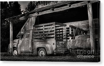 Scotopic Vision 5 - The Barn Canvas Print