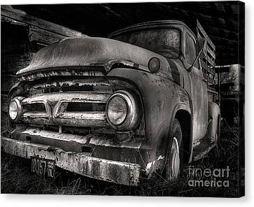 Scotopic Vision 6 - 53 Ford Canvas Print by Pete Hellmann