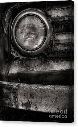 Scotopic Vision 7 - Headlight Canvas Print by Pete Hellmann