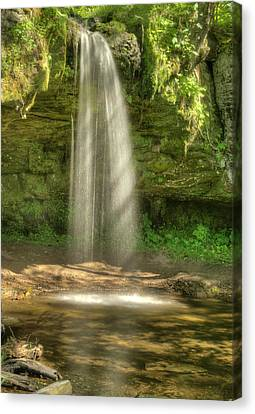 Scott Falls 4741 Canvas Print by Michael Peychich