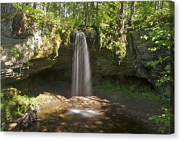 Scott Falls 4750 Canvas Print by Michael Peychich