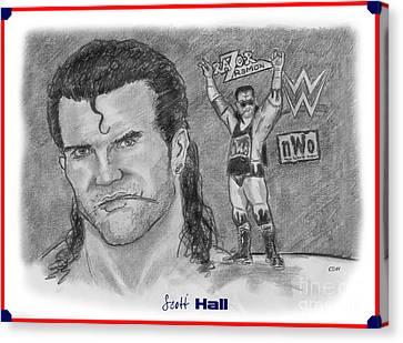 Scott Hall Canvas Print by Chris  DelVecchio