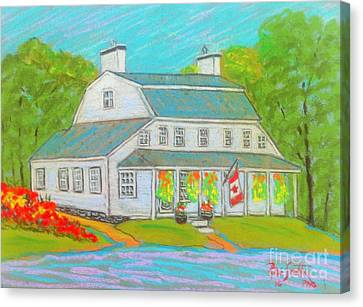 Scott Manor House  Canvas Print