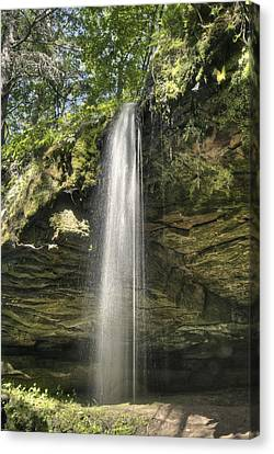 Scott Waterfall Canvas Print by Michael Peychich