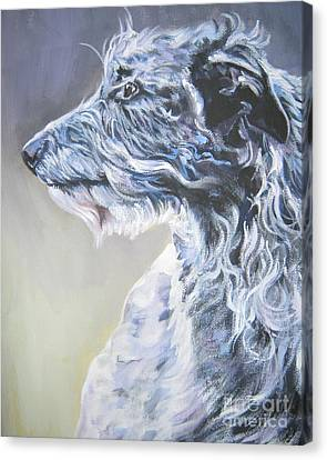 Scottish Deerhound Canvas Print by Lee Ann Shepard