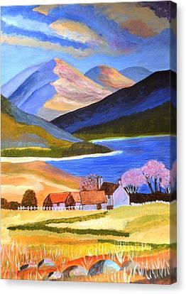 Scottish Highlands 2 Canvas Print