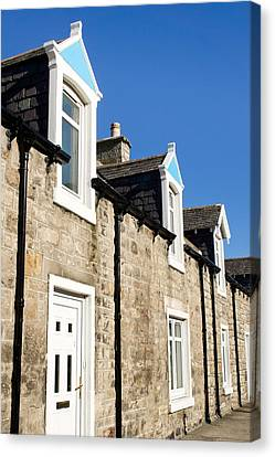 Scottish Homes Canvas Print