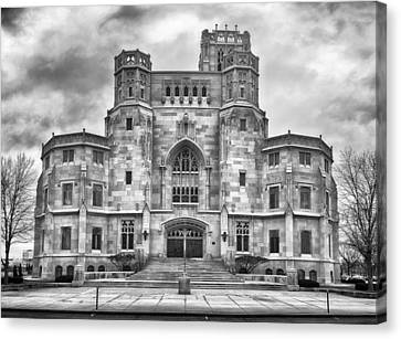 Canvas Print featuring the photograph Scottish Rite Cathedral by Howard Salmon