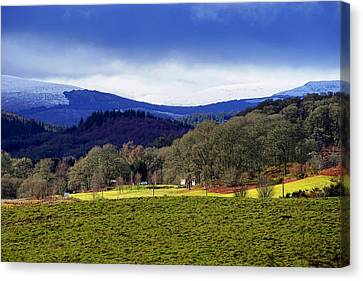 Canvas Print featuring the photograph Scottish Scenery by Jeremy Lavender Photography